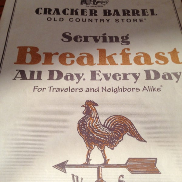 Photo taken at Cracker Barrel Old Country Store by Timothy H. on 2/2/2013