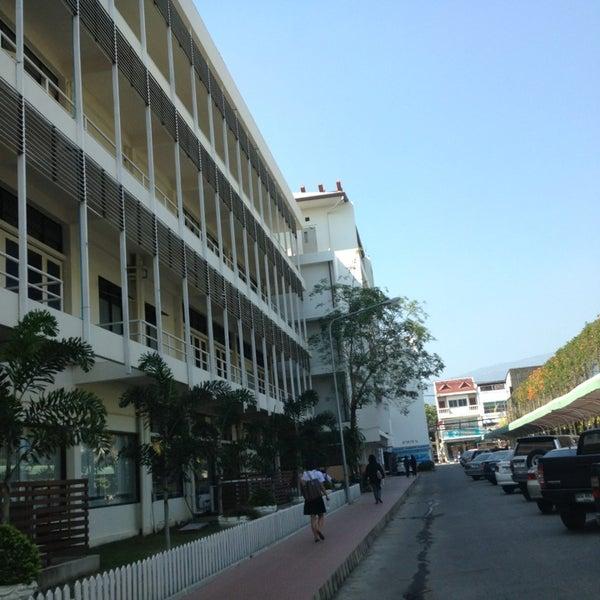 Photo taken at มหาวิทยาลัยราชภัฏเชียงใหม่ (Chiang Mai Rajabhat University) by A-Lot on 2/19/2013