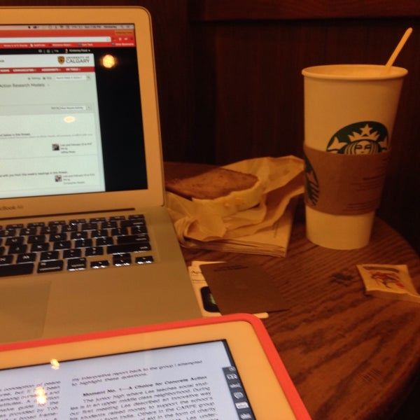 Photo taken at Starbucks by Kimberley F. on 2/16/2015