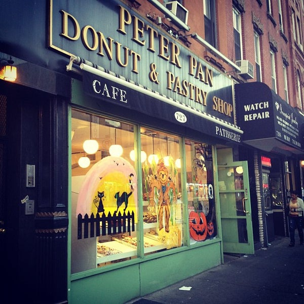 Photo taken at Peter Pan Donut & Pastry Shop by Christina T. on 10/6/2012