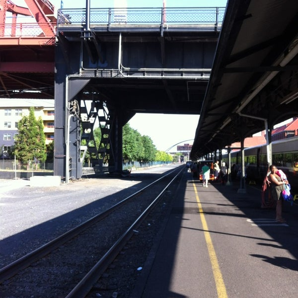 Photo taken at Union Station Amtrak (PDX) by Fabio Z. on 7/3/2013