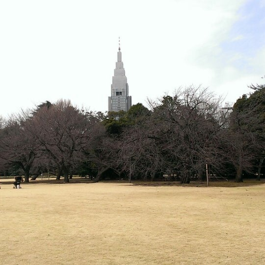 Photo taken at 新宿御苑 (Shinjuku Gyoen) by Clomi9999 on 3/3/2013