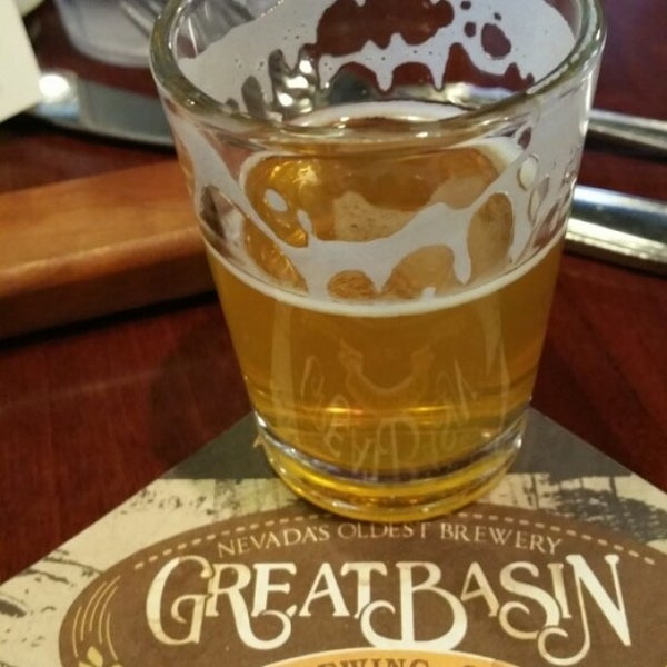 Photo taken at Great Basin Brewing Co. by Kevin S. on 5/8/2015