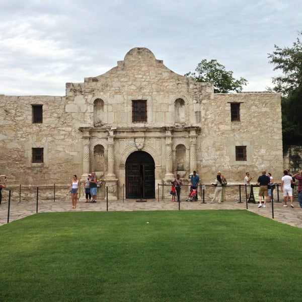 Photo taken at The Alamo by AVB19Peace on 7/14/2013