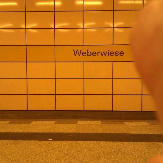 Photo taken at U Weberwiese by bnz on 9/15/2012