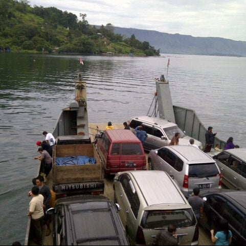 Photo taken at KMP Ferry Tao Toba Ajibata by Fera L. on 1/8/2013