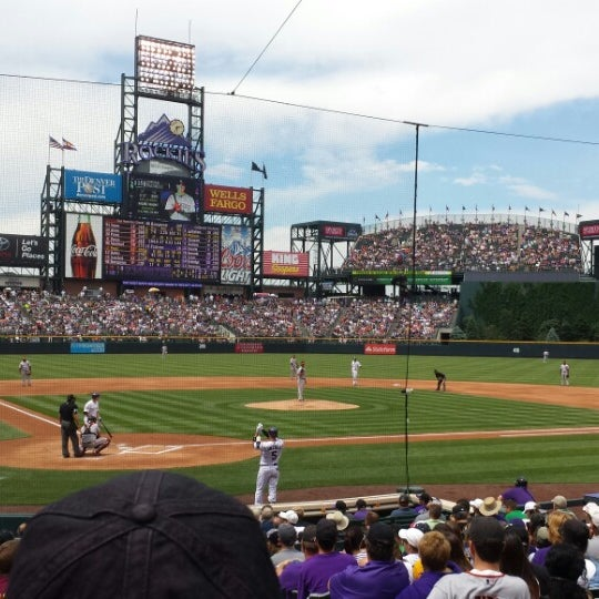 Photo taken at Coors Field by Alan W. on 6/30/2013