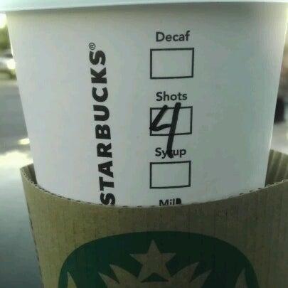 Photo taken at Starbucks by Bonny E. on 2/13/2013