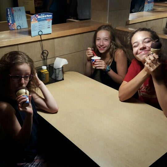 Photo taken at Dairy Queen by Lainey C. on 7/24/2015