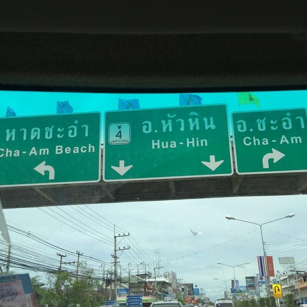 Photo taken at อำเภอชะอำ (Amphoe Cha-am) by Apisit A. on 8/1/2015