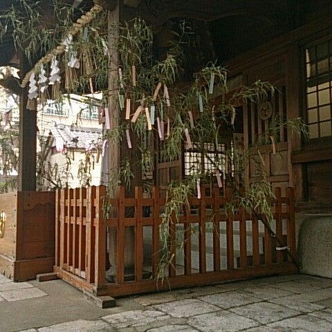 Photo taken at 大塚天祖神社 by u9chan on 7/4/2013