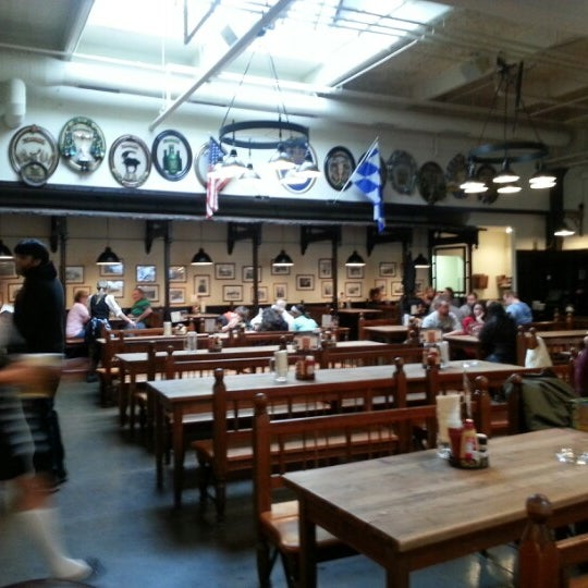 Photo taken at Hofbräuhaus Newport by Michael W. on 2/10/2013