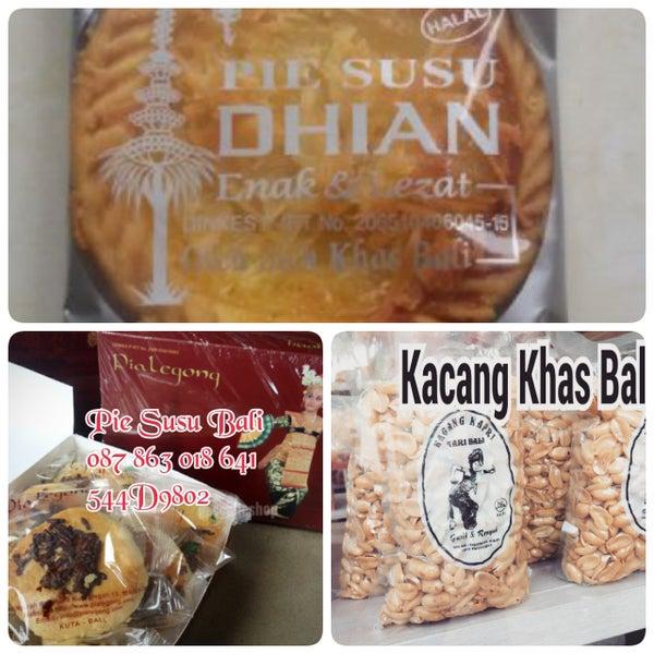 Online shop pie susu dhian , pia legong, kacang kapri khas bali  minat  silahkan menghubungi kontak kami...Pie Susu Bali -( O87 863 018 641 ) - ( 544D9802 ) - ( www.piesusukoe.com)