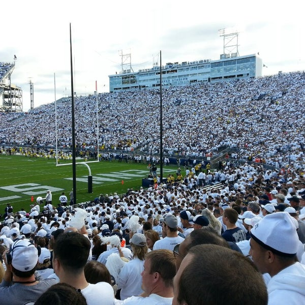 Photo taken at Beaver Stadium by Jake S. on 10/12/2013