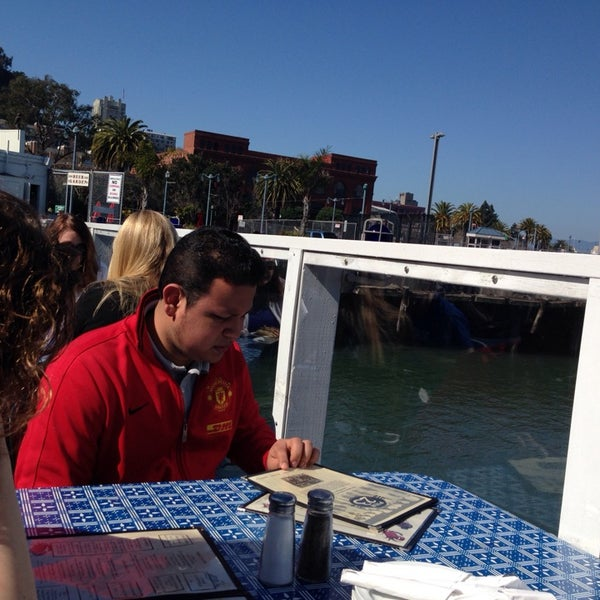 Photo taken at Pier 23 Cafe by Felicia H. on 2/23/2014