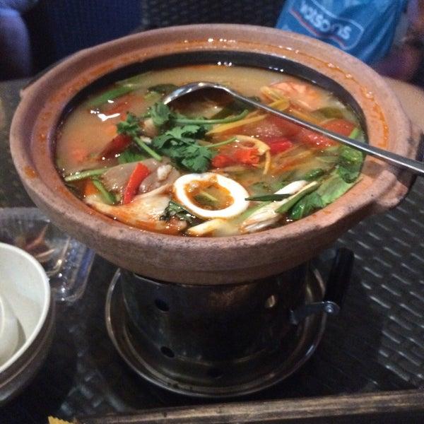 Photo taken at Soul Thai Restaurant by Izwani Z. on 7/3/2015