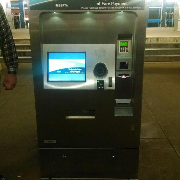 Photo taken at SEPTA MFL/TRL 15th Street Station by Ivy Agnes N. on 11/24/2014