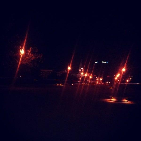 Photo taken at John T. Myers Pedestrian Bridge by Derrick M. on 8/9/2014