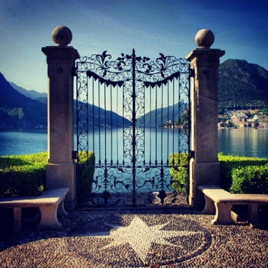Photo taken at Lago di Lugano by Gamze . on 2/14/2014
