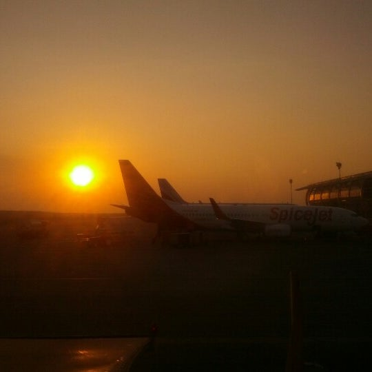 Photo taken at Dabolim Goa International Airport (GOI) by Aakash B. on 12/3/2012