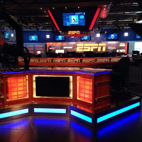 Photo taken at ESPN by Marc C. on 1/23/2014