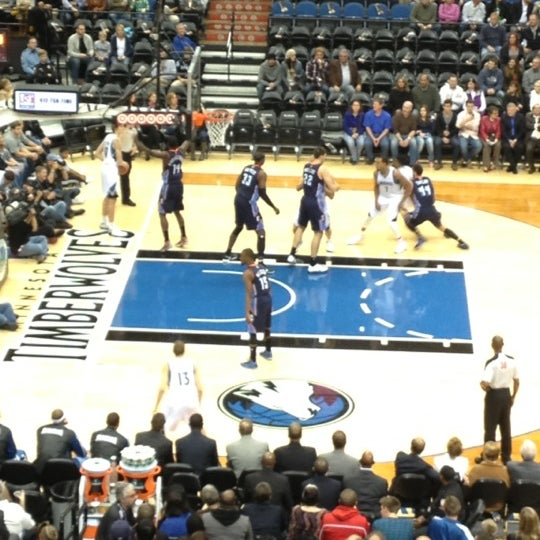 Photo taken at Target Center by Crystal A. on 11/15/2012