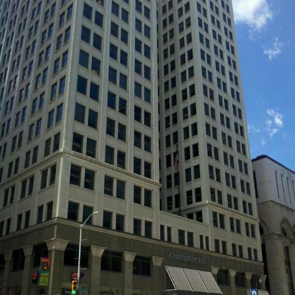 Building In Detroit