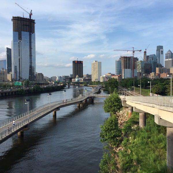 Photo taken at South Street Bridge by George H. on 6/2/2016