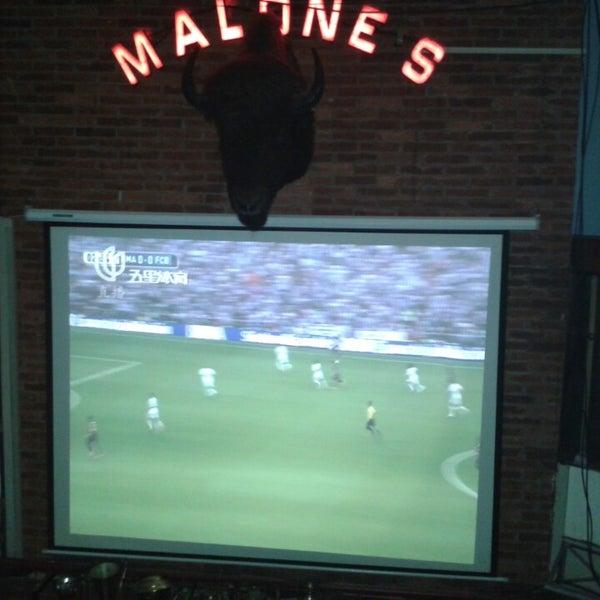 Photo taken at Malone's by dani on 10/25/2014