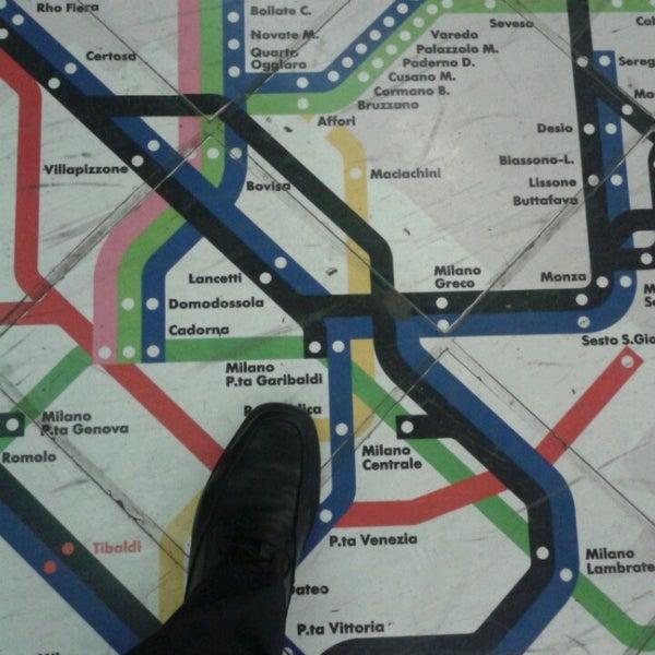 Passante porta garibaldi linee s light rail station in - Milano porta garibaldi passante mappa ...