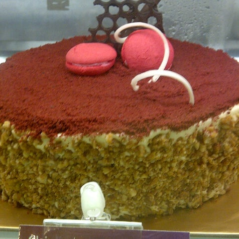 Photo taken at Clairmont Patisserie by Nuris S. on 1/26/2013
