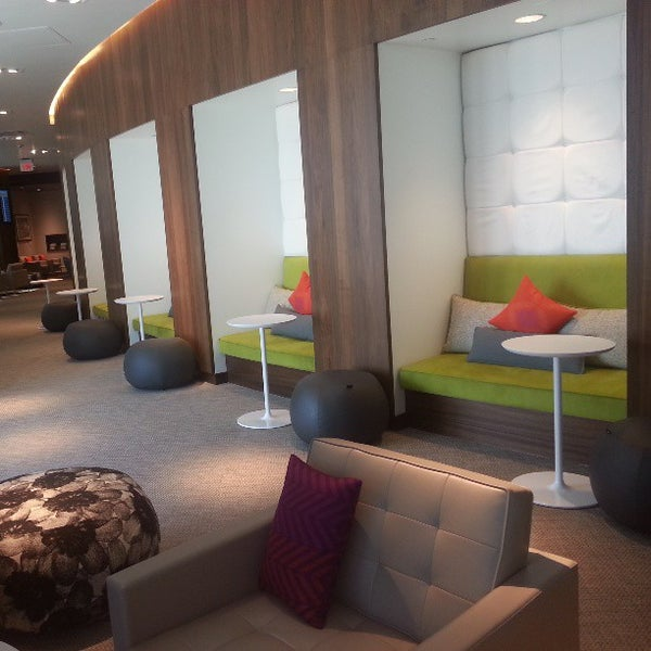 Photo taken at The Centurion Lounge by American Express by Taylor M. on 3/19/2013