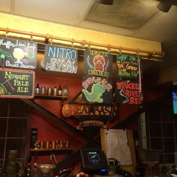 Photo taken at Great Basin Brewing Co. by Josh M. on 11/1/2015