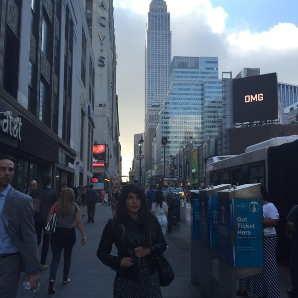 Photo taken at Garment District by Angela M. on 6/29/2016