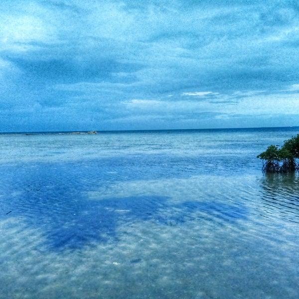 Photo taken at Pulau Pramuka by Adjie N. on 12/26/2016