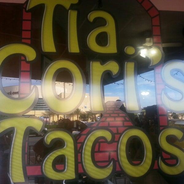 Photo taken at Tia Cori's Tacos by Donald S. on 5/25/2013