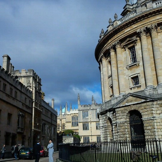 Photo taken at Radcliffe Camera by Gabee B. on 10/27/2012