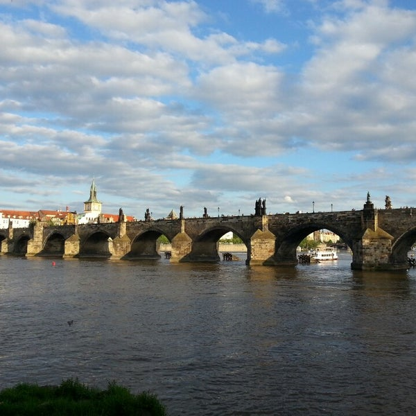 Photo taken at Charles Bridge by Dmitry S. on 5/15/2013