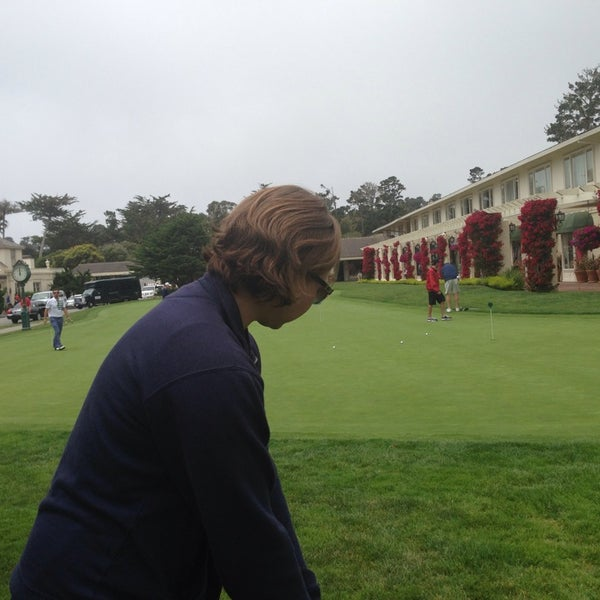 Photo taken at The Lodge at Pebble Beach by Allison H. on 7/18/2013