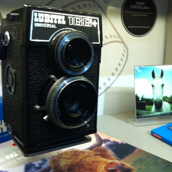 Photo taken at Lomography Gallery Store Austin by Narissa J. on 3/7/2013