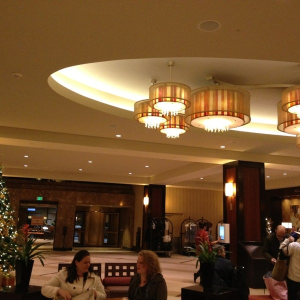 Photo taken at San Francisco Marriott Marquis by Angelene T. on 1/1/2013