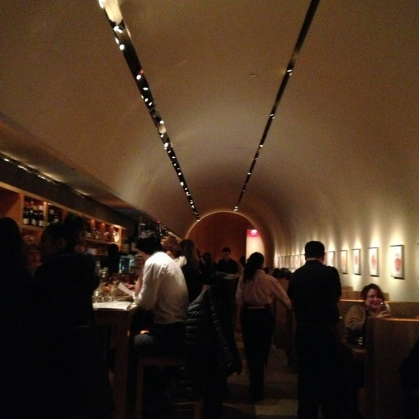 Photo taken at Bar Boulud by Alexandre H. on 1/19/2013