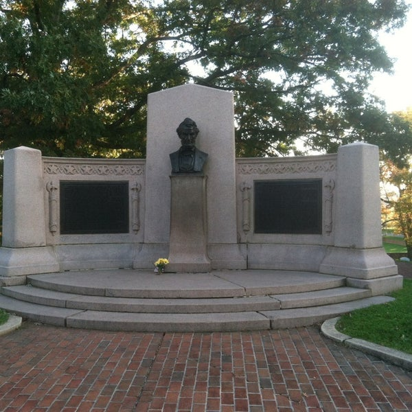 Photo taken at Gettysburg National Cemetery by Andrew R. on 12/20/2012