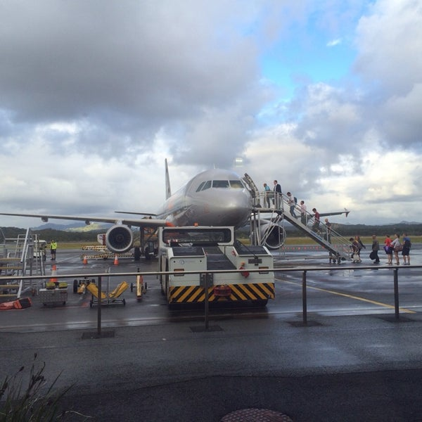 Photo taken at Gold Coast Airport (OOL) by Leesa W. on 3/2/2014