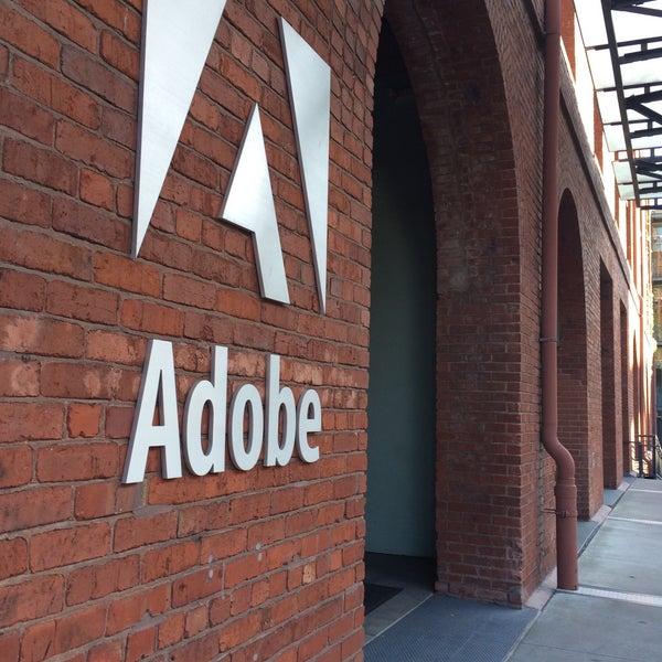 Photo taken at Adobe by Nadine F. on 7/24/2015