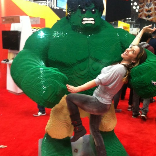 Photo taken at New York Comic Con 2012 by Elyse A. on 10/14/2012