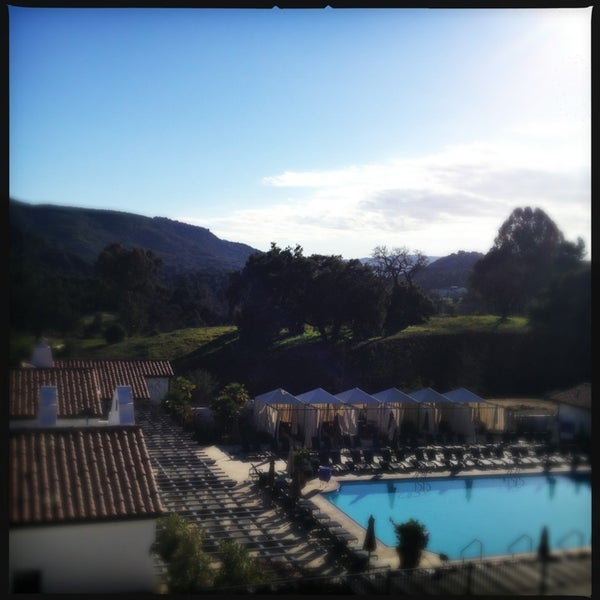 Photo taken at Ojai Valley Inn & Spa by Jappy Princess M. on 2/11/2013