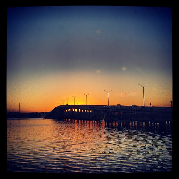 Photo taken at Palatka Riverfront by Veronica L. on 1/17/2013
