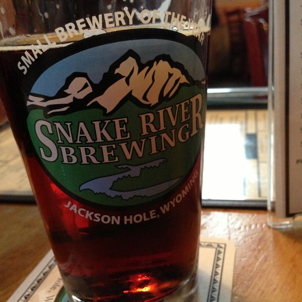 Photo taken at Snake River Brewery & Restaurant by Brad E. on 5/6/2013