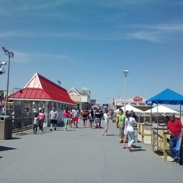 Photo taken at Point Pleasant Beach Boardwalk by Chris C. on 5/27/2013